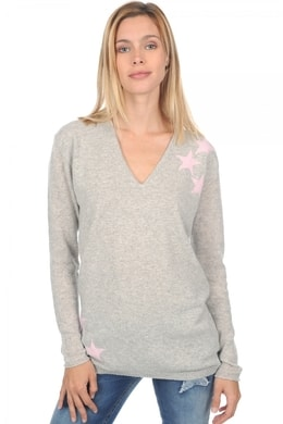 flanelle chine blushing bride (stars)