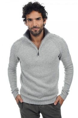 flanelle chine grey marl