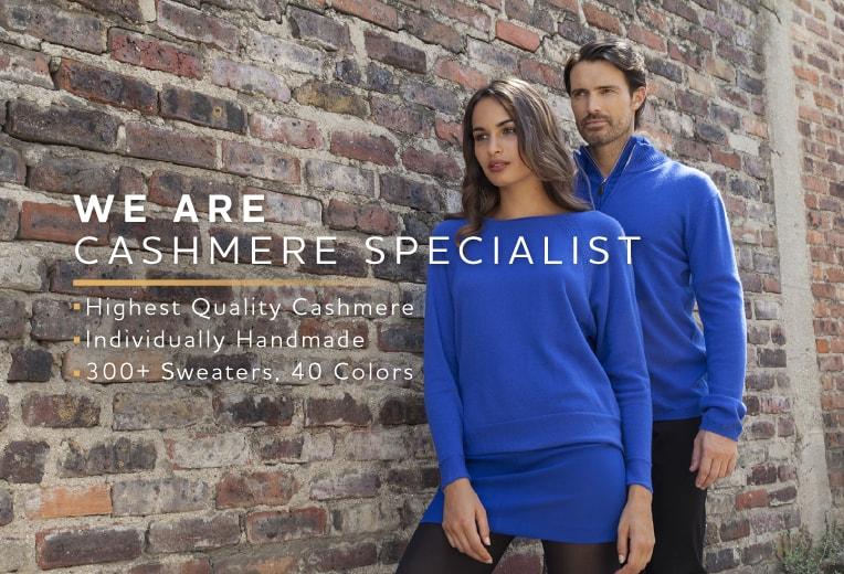Ylelliset 100%-kashmirvillasta valmistetut vaatteet  34b0ecb03d